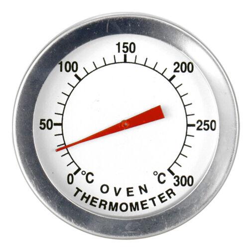 Räucherofen Grill Zeiger Thermometer 300C Ofen BBQ Analog Edelstahl 20cm sensor