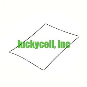 Black Pre Adhesive Middle Frame Bezel Screen Support for Apple iPad 2 3 4