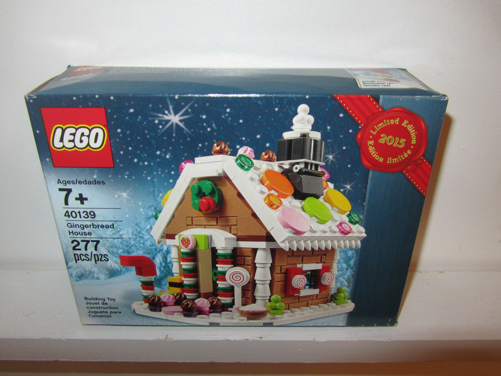 Lego Lego Lego Santa Gingerbread House Lot Set NEW SEALED BOX Christmas Promo Limited Edt c7cecd