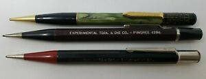 Lot-of-3-Vintage-Pencils-Ritepoint-Pingree-4286-Autopoint-Experimental-Tool