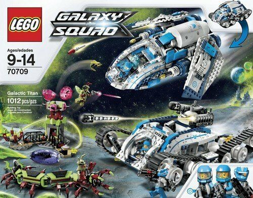 LEGO ® GALAXY SQUAD 70709 TITANO GALATTICO BRAND NEW!! OVP
