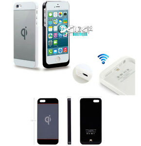 Qi-Housse-Coque-Chargeur-Wireless-Receiver-Batterie-sans-fil-iPHONE-5-S-Charger