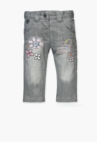 68 74 80 86 Neu 204084 Gr Boboli Baby Mädchen Jeans Hose grau  Art.-Nr