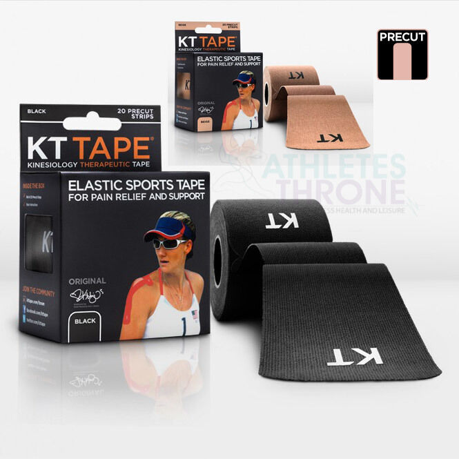 KT Tape Kinesiology Elastic Sports Pain Relief Muscle Physio Strain X 40 Strips