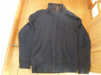 FAT FACE NAVY BLUE LYME ZIP THROUGH SWEAT TOP JUMPER JACKET XS TEEN MEN NEW