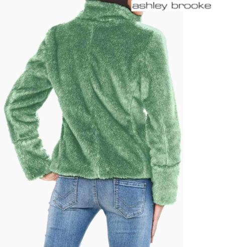 WEBPELZ JACKE FELLOPTIK 40 44 ASHLEY BROOKE 150€ mint *006112 NEU HIGHLIGHT !