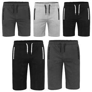 Men's Slim Fit Jogger court & 3-4 Casual Gym Course Poche Zippée Pantalon S-2XL-afficher le titre d`origine 1x2zKsiR-07142349-158196874