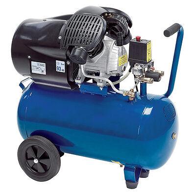 Workzone 50L 3hp 230V Twin-Cylinder Air Compressor (Made by Einhell) + WARRANTY