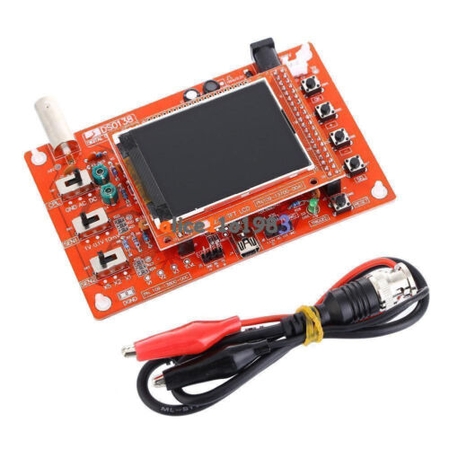 "DSO138 2.4/"" TFT Digital Oscilloscope Acrylic Case DIY Kit SMD Soldered New R2C0"