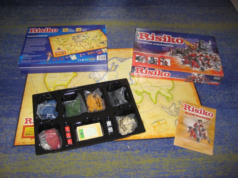 Brettspiel Risiko RISIKO Original PARKER über richtige 300 Figuren