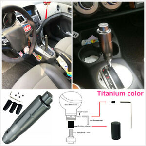 Excellent Black Automatic Car Auto Gear Stick Shift Shifter Knob Lever Accessory