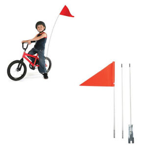 Details about Road Safety Flag for Bicycle Kids Bike, Mobility Scooter,  Prams