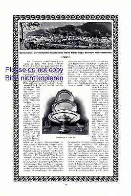 Advertising Advertising-print Berndorf Metalware Austria Xxl 1914 Ad Lower Austria Advertising Cutlery Bright And Translucent In Appearance