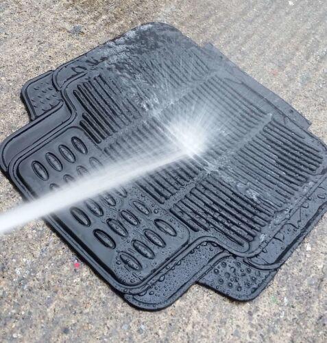 Waterproof BLACK Rubber Car Non-Slip Floor Mats VW Touran