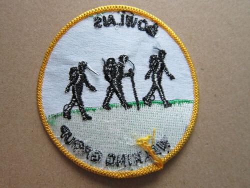 L3K Dowlais Walking Group Walking Hiking Cloth Patch Badge