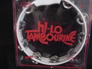 """Intelligent Tambourin Neuf 10"""" 18 Paire Jingles!!! High Lo-afficher Le Titre D'origine à Distribuer Partout Dans Le Monde"""