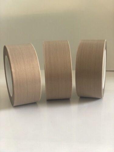 210um PTFE Teflon Tape adhesive 25mm 30 Meters Long High Temp Resistant Tape