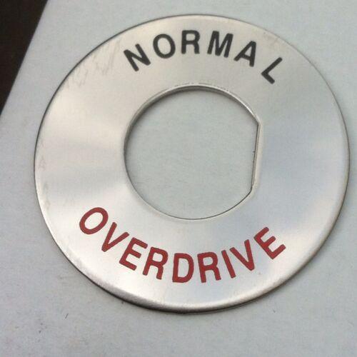 NUOVO Articolo Bd4-d3 Interruttore Overdrive escution in cromo MGB MGC ecc