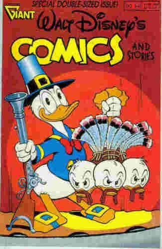 USA,1990 Barks Walt Disney/'s Comics /& Stories # 546