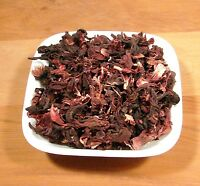 Hibiscus Tea, Cut - 1 Pounds - Bulk Loose Leaf Hibiscus Flower Tea  Jaimaica