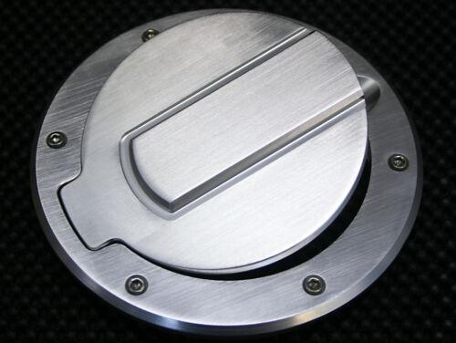 SHR Tru-Billet Fuel Door for F150-450 Super Duty and Dodge Ram Trucks-Satin