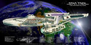 star trek the motion picutres u s s enterprise ncc 1701 refit