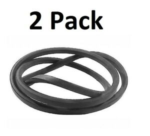 "(2) Industrial & Lawn Mower V Belt A91 (1/2"" X 93"") 4l930"