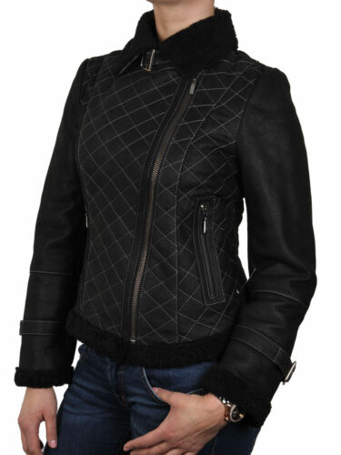 d'aviation Giacca moto Di Pelle de Brandslock ᄄᄂ styliste Donna DWEY2H9I