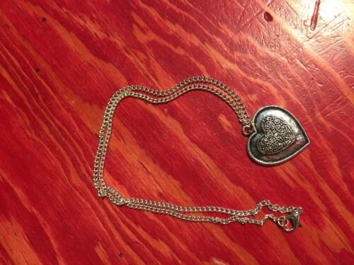 Heart Necklace Pendent Charm with chain