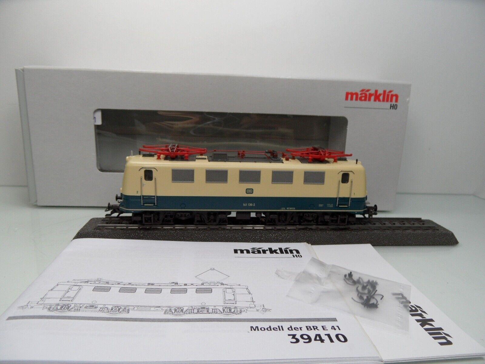 Märklin 39413 - H0 - DB - E-Lok 141 136-2 - Sound mfx - TOP in OVP -  4311