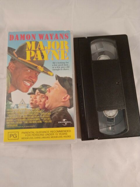 VHS VIDEO TAPE Major Payne