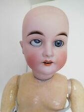 "Antique German 22"" Karl Hartmann Bisque Head Child Fix Eye"
