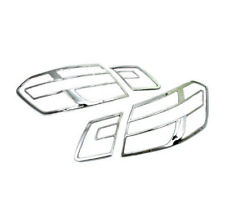 Chrome Tail Light Cover 4pcs for Mercedes Benz E Class 4Dr W212 2010-2013 New