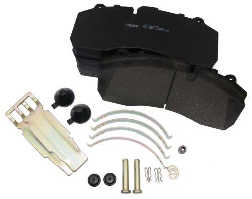 """/""""DAF XF95 XF105  XF106 brake pad set 22.5/"""" Wheel Fixing kit Front or Rear"""