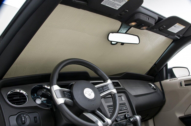 Leatherette Custom Fit SunShade Windshield Visor For For BMW i3 13-19 2013-2020