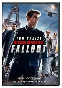 MISSION IMPOSSIBLE: FALLOUT (2018, DVD) BRAND NEW & SEALED! with FREE SHIPPING!