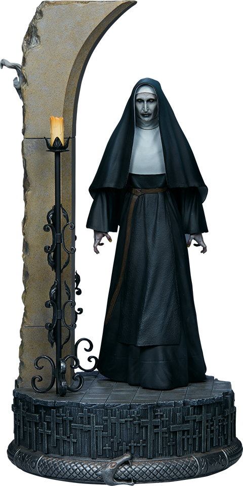 The Conjuring Universe Valak The Nun Bonnie Aarons Statue Sideshow Collectibles