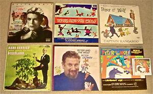 Peter-amp-The-Wolf-LPs-Bowie-Disney-CaptainKangaroo-HansConried-Ustinov-Karloff-CD