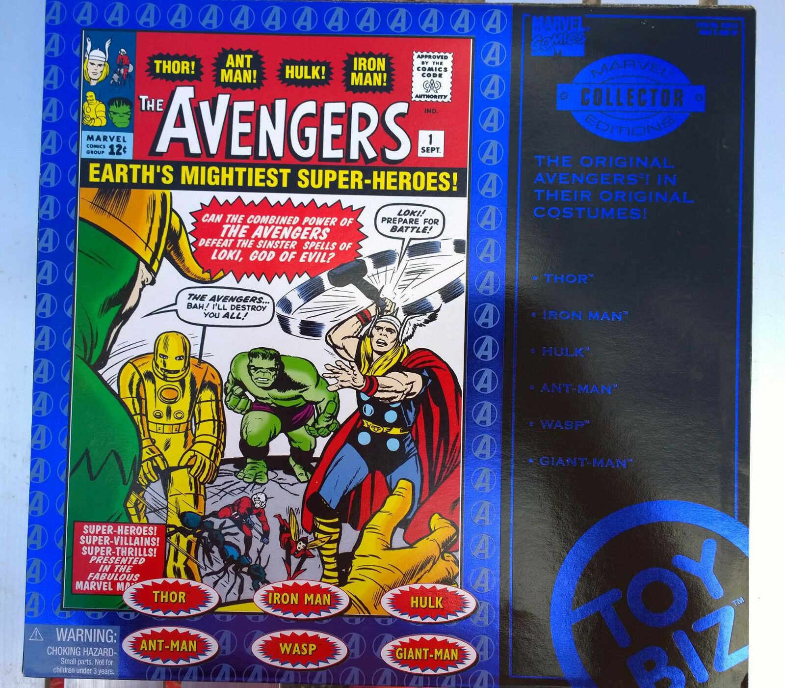 Toy Biz Marvel  Collector Edition - First Edition The Original Avengers Box Set