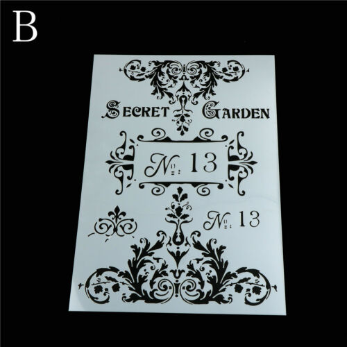 garden layering stencils for walls painting scrapbooking stamping album decor SP