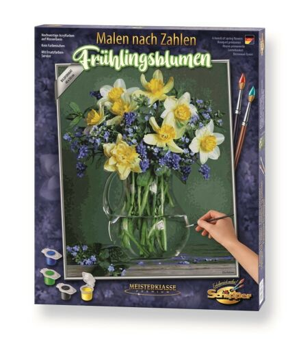 Malen nach Zahlen Schipper 609130789 Frühlingsblumen