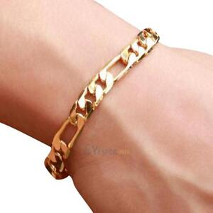 Image Is Loading Fashion Women Men Luxury Curb Chain Link Gold
