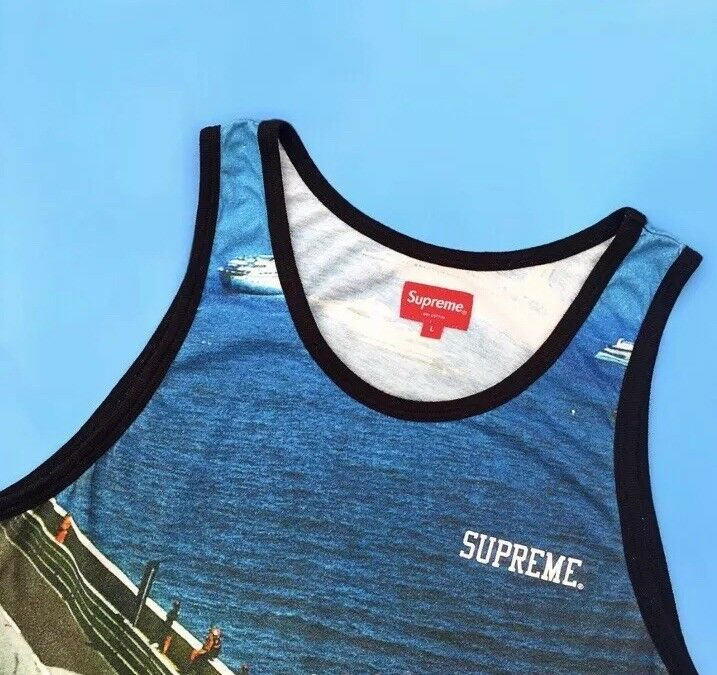 Supreme F1 Monaco Vest Tank Top T Shirt Size M 2004