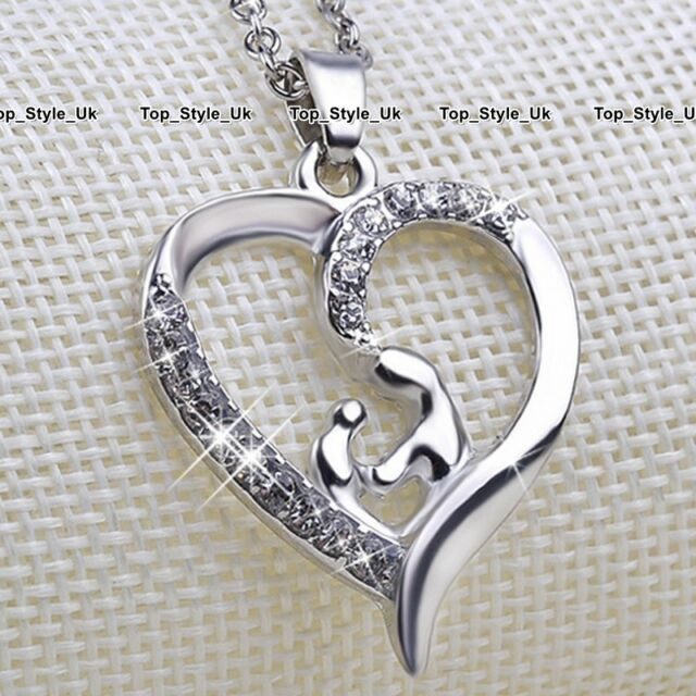 crystal silver jewellery mother daughter gifts for her christmas