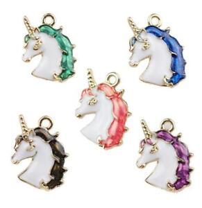 20pcs-Lovely-unicorn-Alloy-pendant-DIY-earring-Bracelet-Jewelry-Accessorie