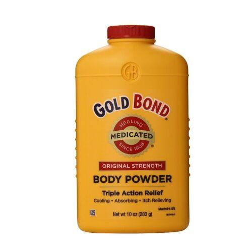 Gold Bond Body Powder Medicated 10 oz (Pack of 6)