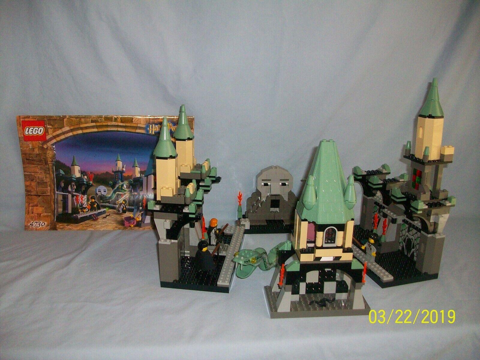 Lego Set 4730 Chamber of Secrets HARRY POTTER w  instructions 100% complete