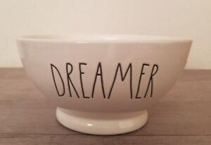 BRAND NEW Rae Dunn by Magenta DREAMER Bowl Farmhouse Home Decor