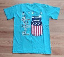 "NWT Womens Royce Brand Lagoon Blue /""Shinin/"" T-shirt Sz XL X-Large"