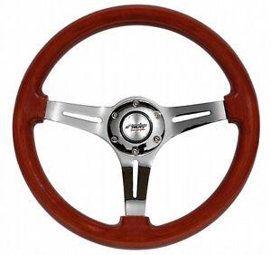 DIJ350-W-Volante-Auto-Sportivo-in-Vero-Legno-Simoni-Racing-Fiat-500-126-Epoca